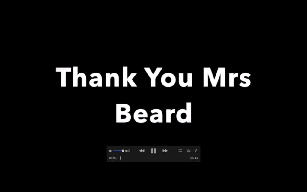 Goodbye Mrs Beard